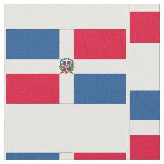 Tissu Drapeau de la République Dominicaine