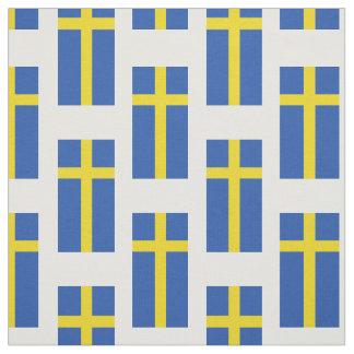 Tissu Drapeau de la Suède