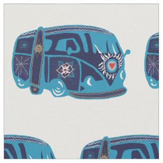 "Tissu du coton de Hippie Van Custom Combed (56"""