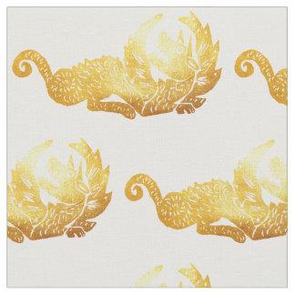"""Tissu du coton peigné par coutume de dragon (56"""""""
