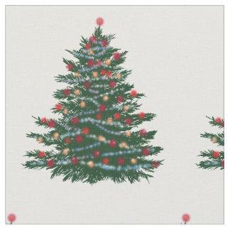 """Tissu du coton peigné par coutume de Noël (56"""""""