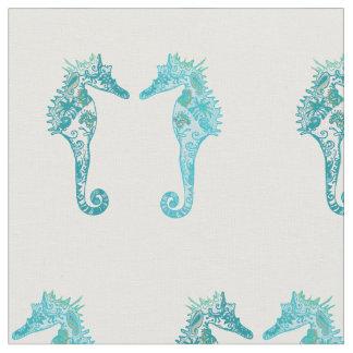 """Tissu du coton peigné par hippocampe (56"""" largeur)"""