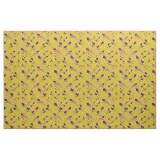 Tissu du motif 2 de bourgeon floraux