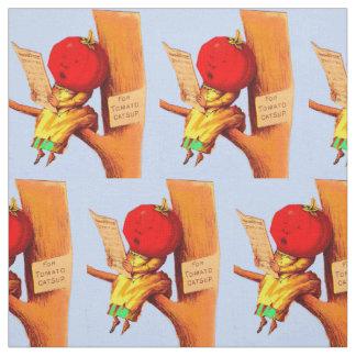 Tissu Femme commerciale victorienne de tête de tomate de