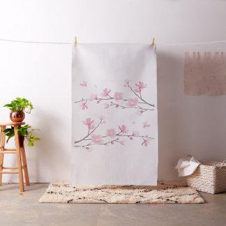 Tissu Fleurs de cerisier - arrière - plan transparent