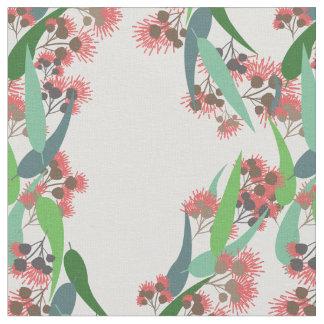 Tissu Fleurs d'eucalyptus