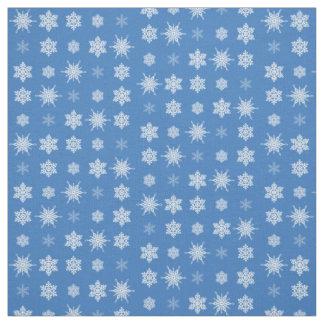 Tissu Flocons de neige