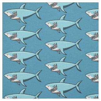 Tissu frais de coutume de requin
