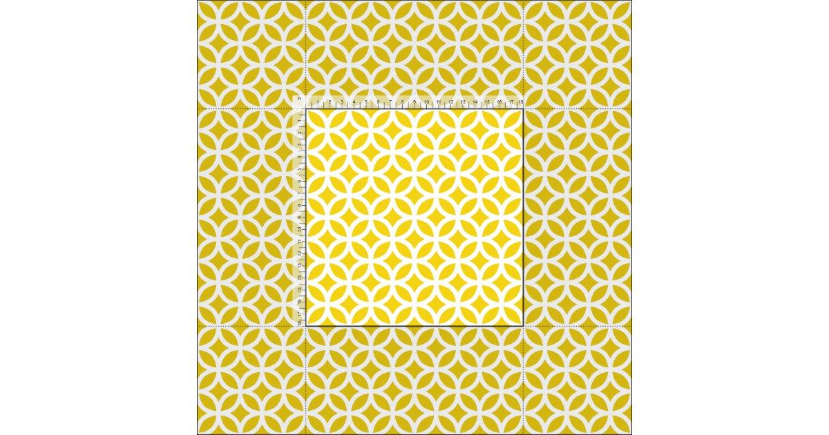 tissu g om trique jaune citron de motif. Black Bedroom Furniture Sets. Home Design Ideas
