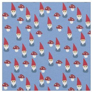 Tissu Gnomes environ