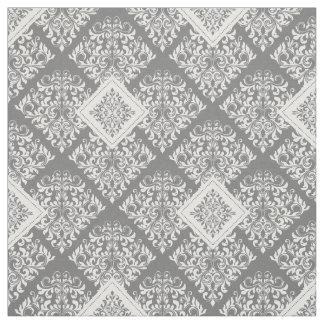 tissu gris blanc personnalisable pour loisirs cr atifs zazzle. Black Bedroom Furniture Sets. Home Design Ideas