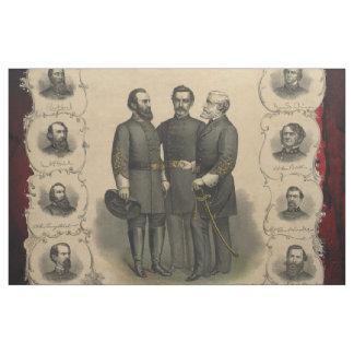 Tissu Héros de guerre civile