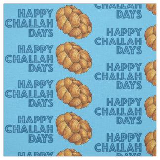 Tissu heureux bleu de Hanoukka Chanukah de jours
