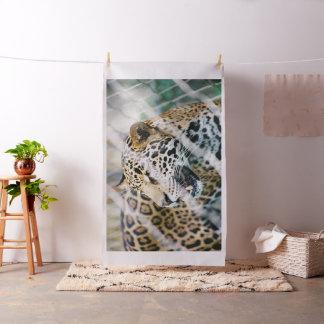 Tissu imprimé par tigre