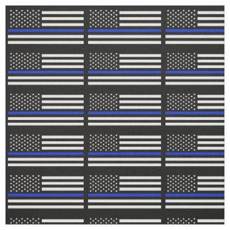 Tissu La police dénomme le drapeau américain