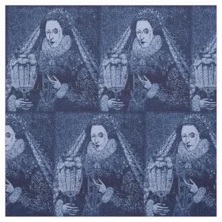 Tissu La Reine Elizabeth I dans le croquis de mise au