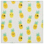 Tissu L'ananas pirate l'été tropical