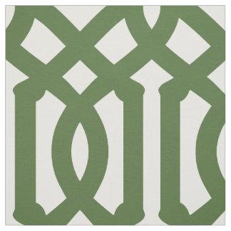 Tissu Large échelle de treillis de vert de mousse