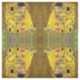 Tissu Le baiser d'amants après Klimt
