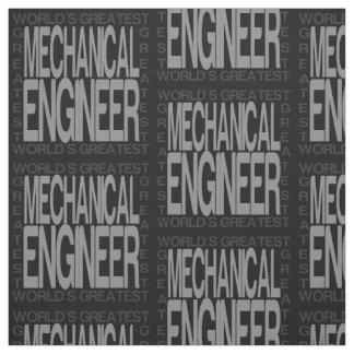 Tissu Le plus grand ingénieur mécanicien des mondes