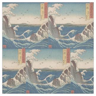 Tissu Le tourbillon de Naruto ondule Hiroshige