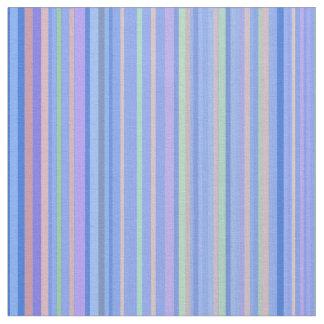 Tissu Lignes barrées par rayure d'impression de motif de