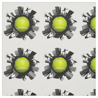 Tissu Monde frais de tennis