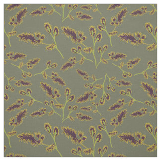Tissu Motif 1 d'herbes