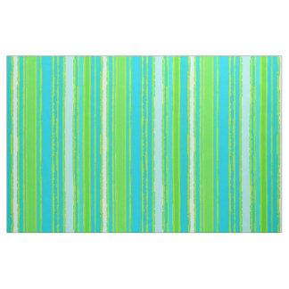 Tissu Motif à la mode de rayures de turquoise d'Aqua de