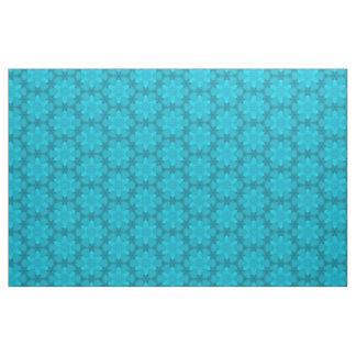 Tissu Motif abstrait 11 de turquoise