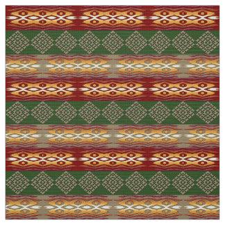 Tissu motif africain tribal ethnique