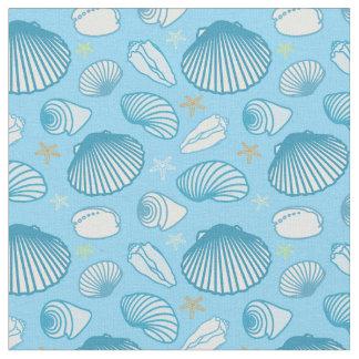 Tissu Motif de bleu d'océan