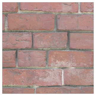Tissu Motif de mur de briques