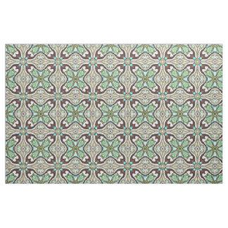 Tissu Motif de Nouveau Deco de bleu de turquoise de