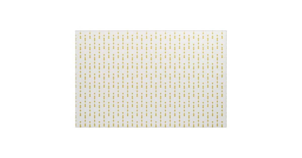 Tissu motif de points g om trique jaune de moutarde for Articles de maison anglo canadian s e c