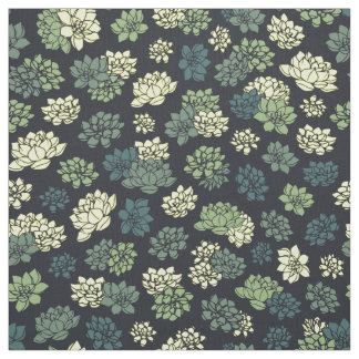 Tissu Motif de Succulents