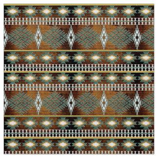Tissu motif ethnique du sud-ouest de Navajo