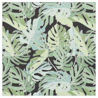 Tissu Motif floral de jungle