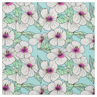 tissu fleurs tropicales pour loisirs cr atifs couture. Black Bedroom Furniture Sets. Home Design Ideas