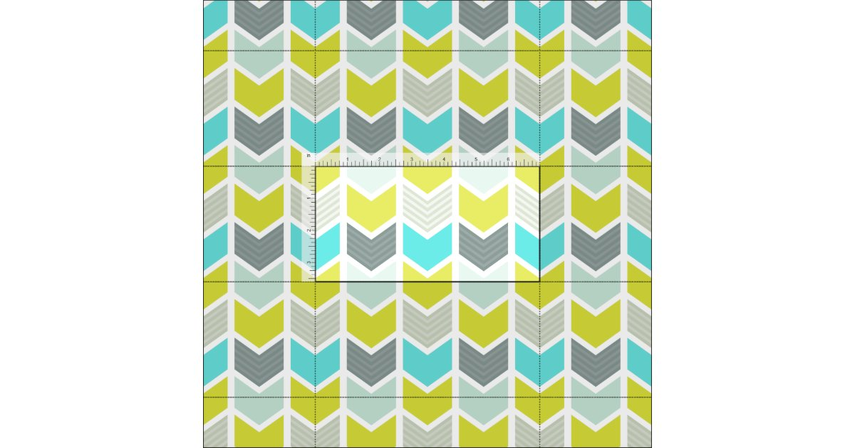tissu motif g om trique gris jaune bleu de chevron. Black Bedroom Furniture Sets. Home Design Ideas