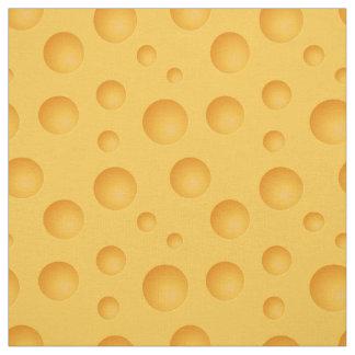 Tissu Motif jaune de fromage