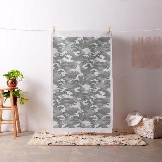 Tissu Motif militaire d'armée de camouflage gris-clair