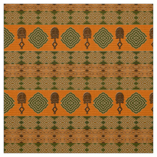 Tissu motif tribal africain ethnique