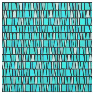 Tissu Motif tribal inspiré africain de domino de