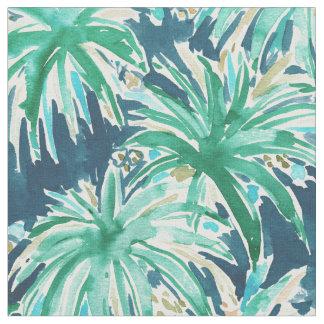 tissu motif tropical de feuille pour loisirs cr atifs couture. Black Bedroom Furniture Sets. Home Design Ideas