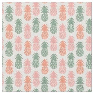 Tissu Motif vintage d'ananas