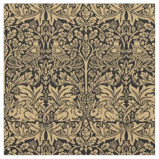 Tissu Motif vintage de lapin de William Morris Brer