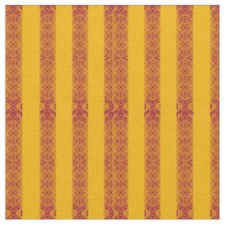 tissu moutarde