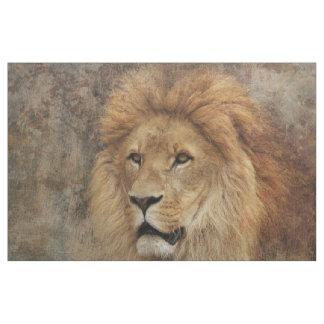 Tissu Nature de l'Afrique de faune de lion
