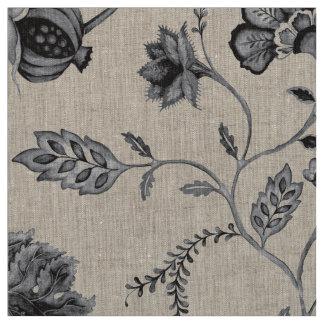 Tissu Nerf de boeuf floral